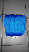 """Верёвка """"Крокус"""" (шнур) диаметром 4мм паракорд (синяя)"""
