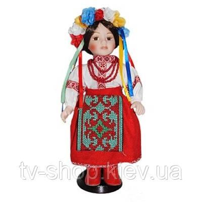 Фарфоровая кукла Украинка,30см
