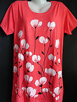 Купить оптом женские футболки больших размеров