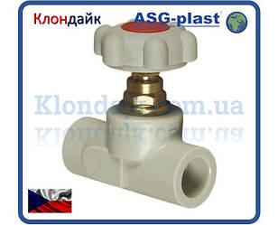 Вентиль Полипропиленовый 63 Asg-Plast (Чехия)