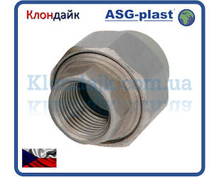 Полипропилен Сгон Американка 25Х3/4 Рв Asg-Plast (Чехия)