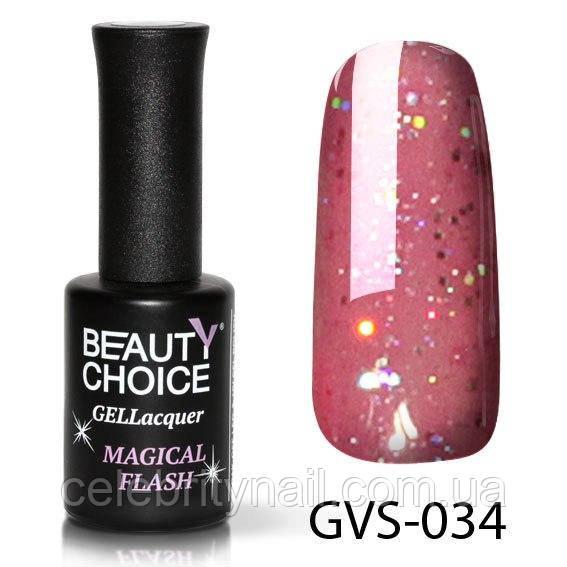 Гель-лак Beauty Choice «Magical flash» GVS-034, 10 мл
