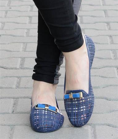 Женские балетки KIMMY blue!