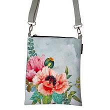 Сумка женская Почтальон Стильные цветы
