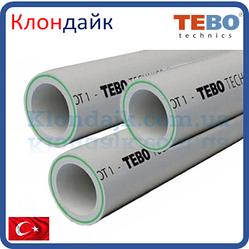 Ppr Tebo Труба Армированная Стекловолокном (Fiber) D 75