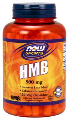 Гидроксиметилбутират, HMB, Now Foods, HMB 500mg, 120 caps