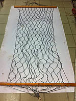 Гамак плетёный сетка (верёвочный).