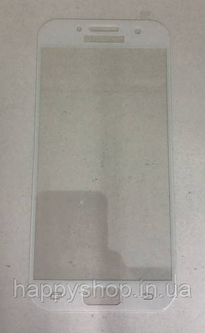 Защитное 3D стекло для Samsung A320 (A3-2017) (White), фото 2