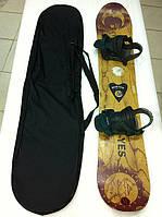 Чехол для сноуборда широкий с ботинками 145 см