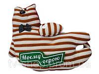 Подушка Кот с шевроном