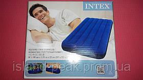 Надувной матрас INTEX ( 99см*1.91м*22см ).