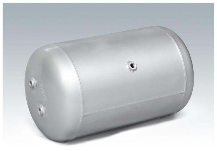 Ресивер воздушный автомобильный, объем 40 литров (280*710 мм)