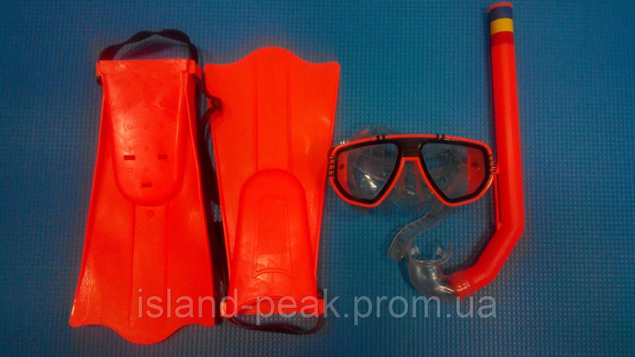 Набор для плавания/дайвинга детский ( маска, трубка, ласты ).