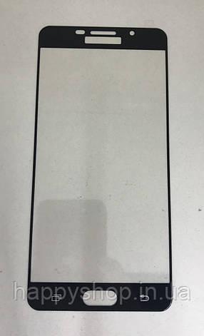 Защитное 3D стекло для Samsung A710 (A7-2016) (Black), фото 2