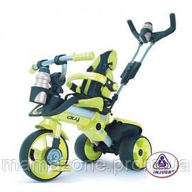 Трехколесный велосипед Injusa City Trike 3263 Зелено-черный