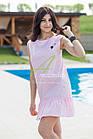 Женское летнее платье 2018 - кокетка - оптом - Код пл-21, фото 2