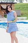 Женское летнее платье 2018 - кокетка - оптом - Код пл-21, фото 5