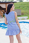 Женское летнее платье 2018 - кокетка - оптом - Код пл-21, фото 6