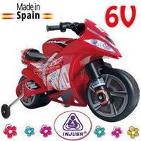 Электромотоцикл детский Motor Bike Wind 6V Injusa 646
