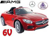 Электромобиль детский  Mercedes-Bens Injusa 717 красный