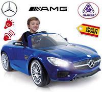 Электромобиль детский  Mercedes-Bens Injusa 7172 синий