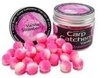 Бойлы pop-up Carp Catchers «Vanilla Strawberry» 10mm