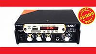 Усилитель звука UKC SN-666BT FM USB 2x300W Блютуз + Караоке. Отличное качество. Купить онлайн. Код: КДН1941
