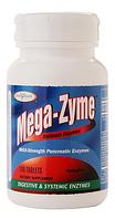 Пищеварительные и системные энзимы, Enzymatic Therapy Mega-Zyme 100 tabs