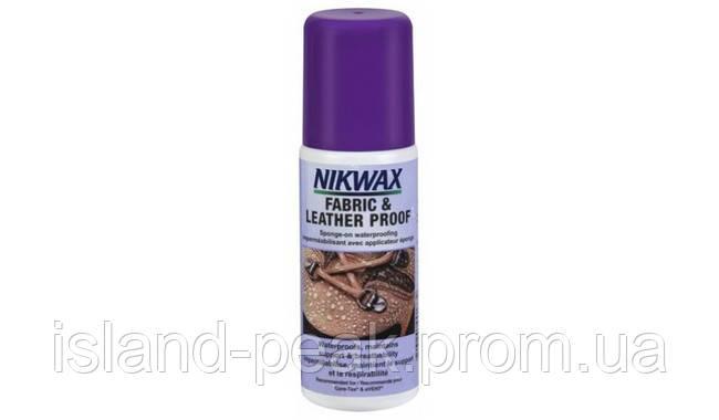 Nikwax Fabric & leather proof 125ml (ткань и кожа)