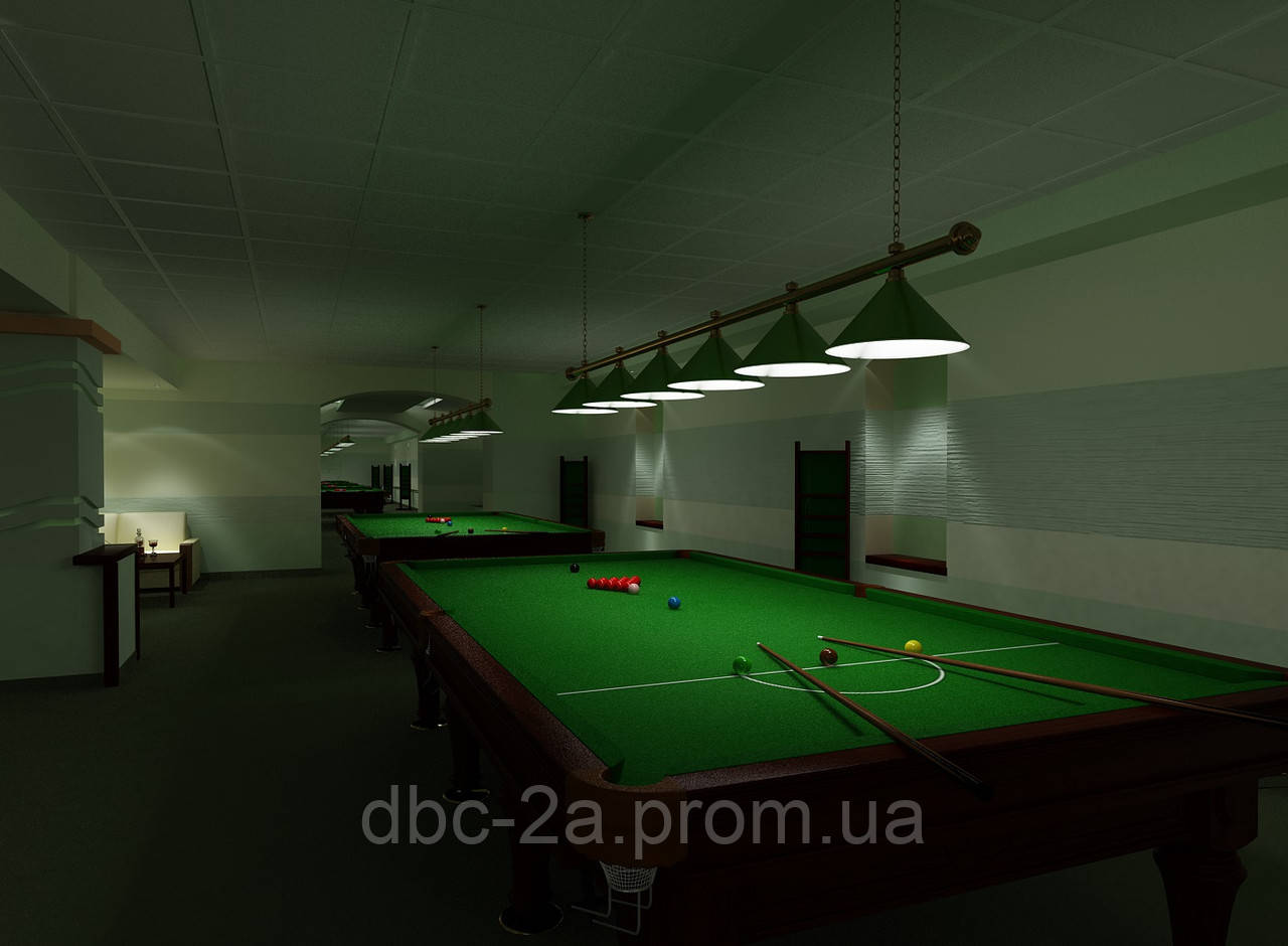 Дизайн проект клуба, Клуб Бинго
