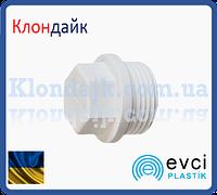 Пластиковая заглушка с НР 3/4 (25) Evci