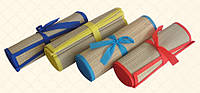Подстилка пляжная бамбук рулон 90х170см