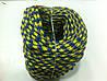 """Верёвка """"Крокус"""" (шнур) диаметром 6мм репшнур (желто-синяя), фото 3"""