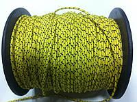 """Верёвка """"Крокус"""" диаметром 2мм (линь) жёлтая"""