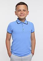 Футболка - поло к.р. для мальчика 11453/114539/114542 SMIL