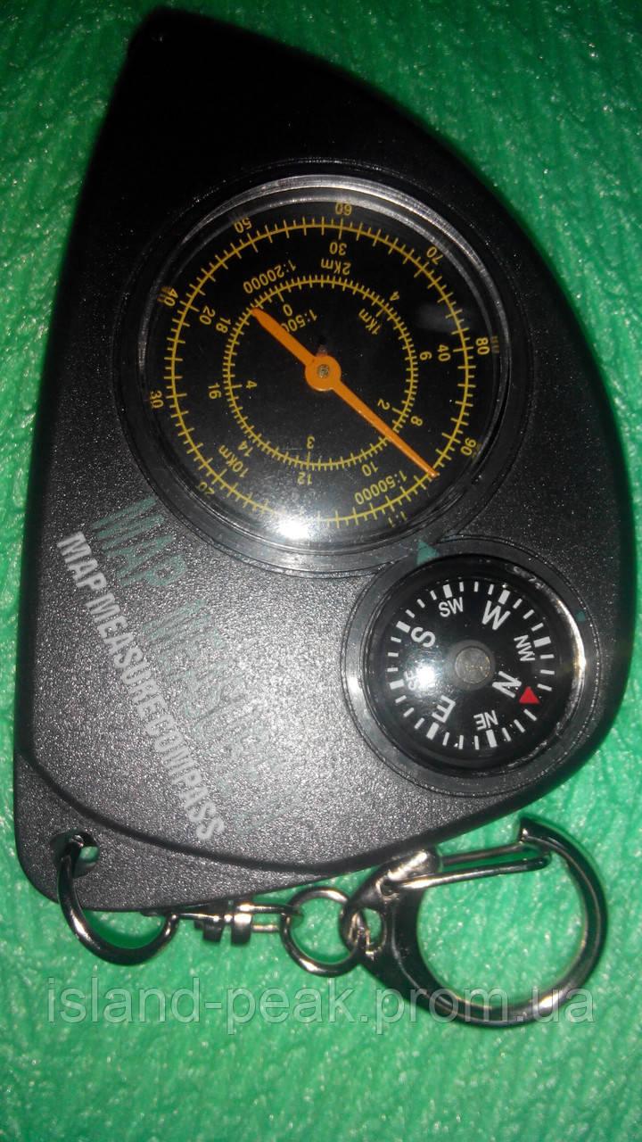 Курвиметр с компасом.