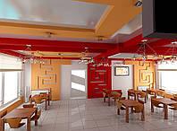 Дизайн проект ресторана, Ресторан 1