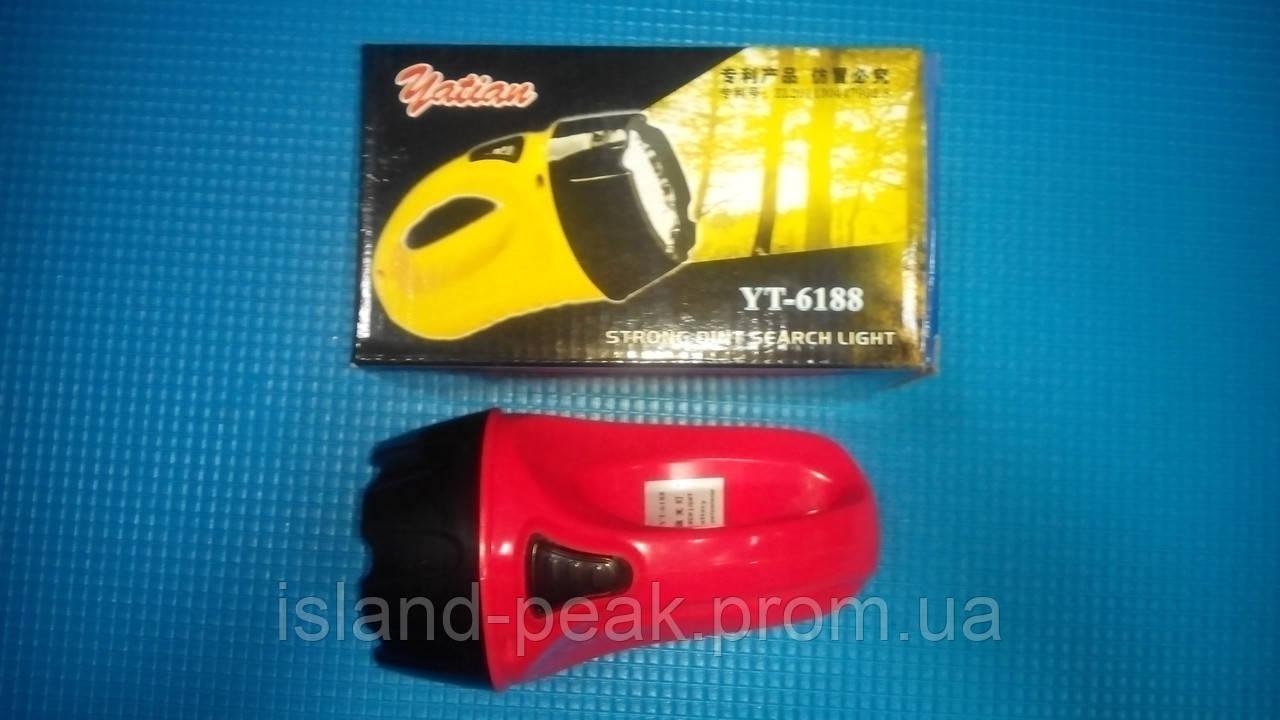 Ручной фонарь YATIAN YT - 6188.