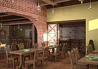 Дизайн проект кафе, Кафе Рылеева