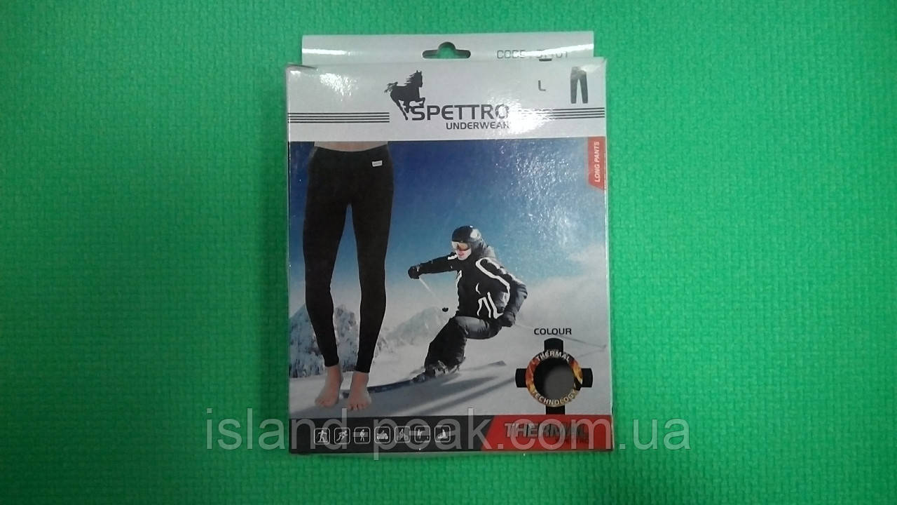 Термобельё SPETTRO штаны - кольсоны, размер L.