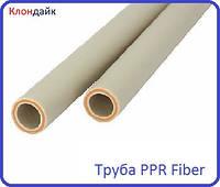 Труба полипропиленовая со стекловолокном (Fiber) 25 Pn20
