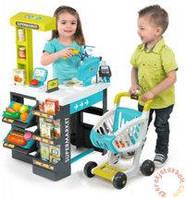 Интерактивный Супермаркет с тележкой Smoby 350206 (41 аксессуара)