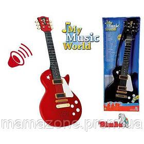 Детский Музыкальный инструмент Рок Гитара Simba 6837110B