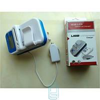 Универсальное ЗУ USB LCD Universal (1 A) СЗУ+АЗУ KMT (KM-009)