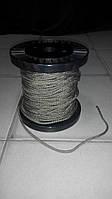 """Верёвка """"Крокус"""" (шнур) олива диаметром 5мм(паракорд) - """"статика""""."""