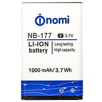 Аккумулятор к телефону Nomi NB-177 1000mAh