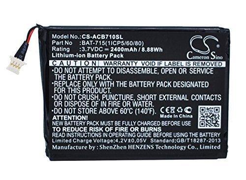 Аккумулятор Acer Iconia Tab B1-710 2400 mAh Cameron Sino - Allbattery комплектующие к ноутбукам, планшетам, телефонам в Харькове
