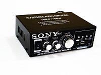 Новый Усилитель Звука Sony AK-699D FM USB Караоке 2x180 Вт. Хорошее качество. Купить в интернете. Код: КДН1942