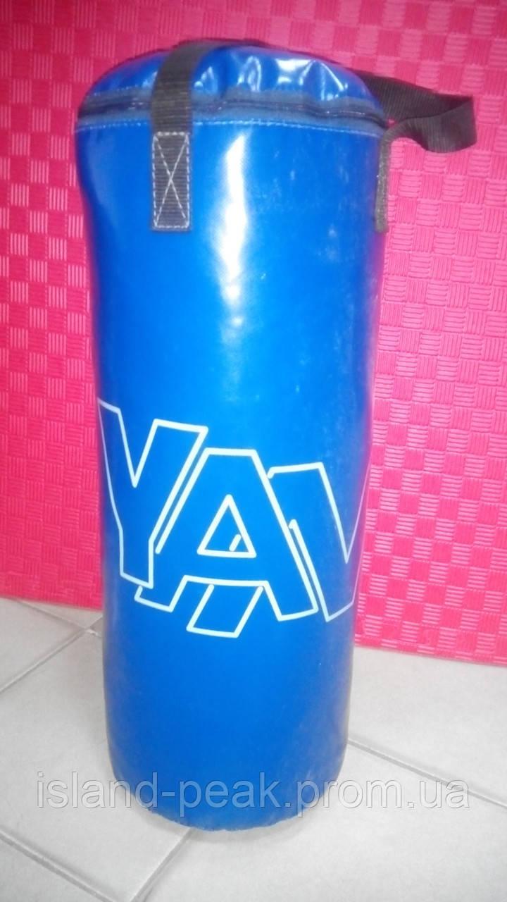 Боксерская груша YAN с лентой 15 кг - 66 см*28 см.