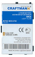 Аккумулятор Craftmann MiTAC MIO A700 1200mAh E3MT11124X1
